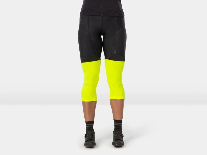 Bontrager Warmer Thermal Knee Radioactive Yellow click to zoom image