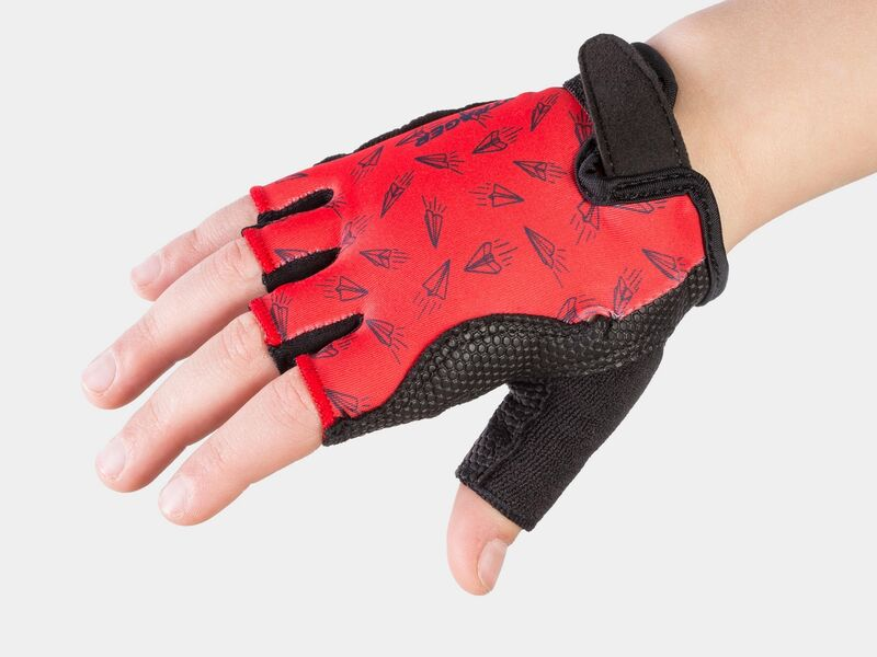 Bontrager Glove Kids Red Paper Airplane click to zoom image