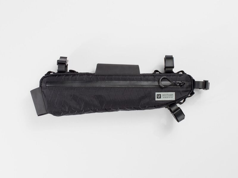 Bontrager Bag Adventure Frame Black 40cm (l) x 5cm (w) x 10cm (h) click to zoom image