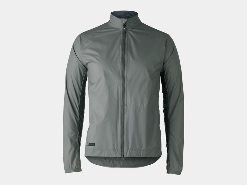 Bontrager Jacket Circuit Rain Solid Charcoal click to zoom image