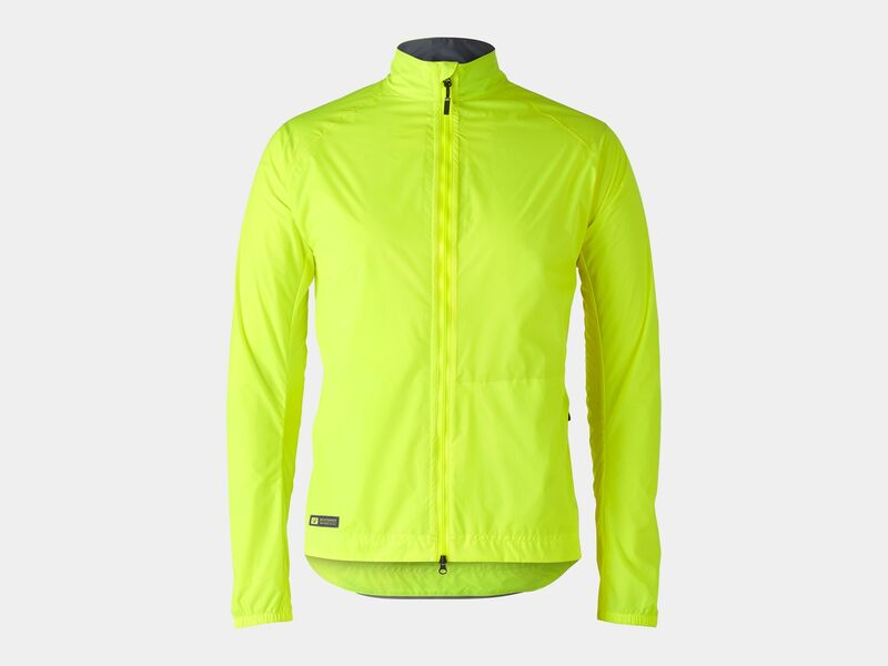 Bontrager Jacket Circuit Rain Radioactive Yellow click to zoom image