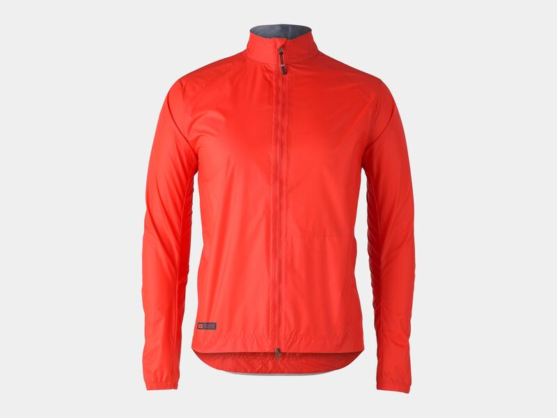 Bontrager Jacket Circuit Rain Radioactive Red click to zoom image