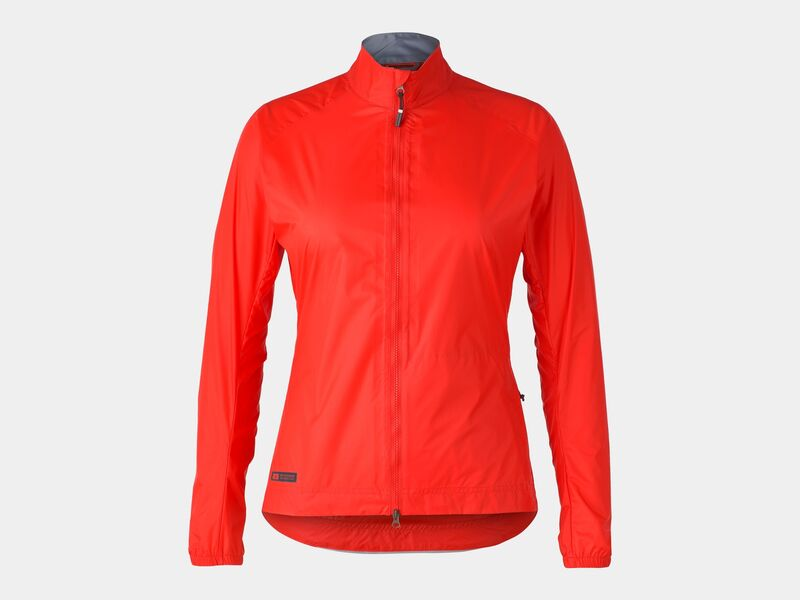 Bontrager Jacket Circuit Rain Women Radioactive Red click to zoom image