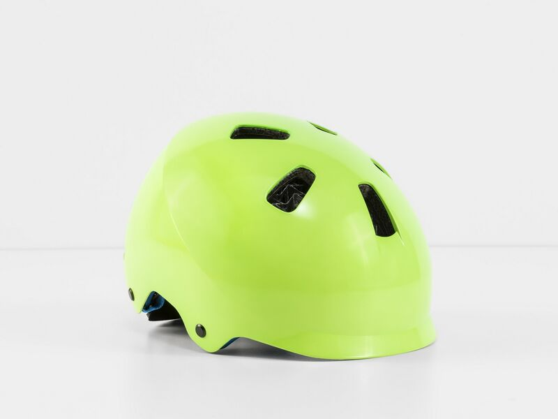 Bontrager Jet Wavecel Youth Vis Green/Royal Ce Youth (50-55 cm) click to zoom image