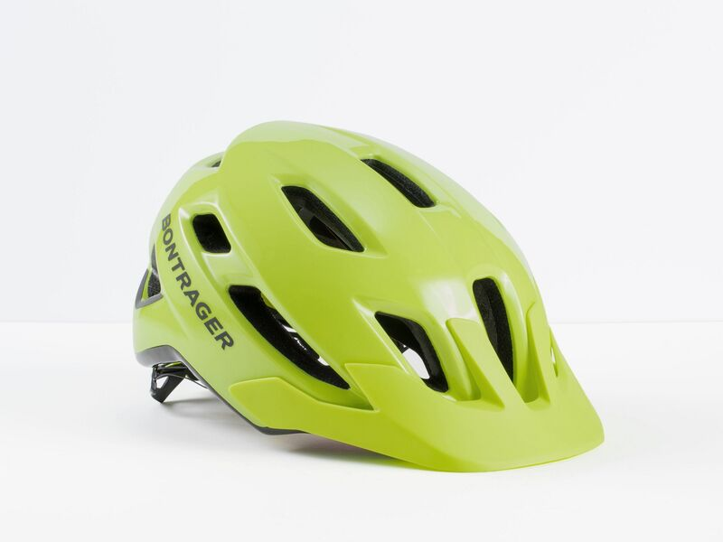 Bontrager Quantum MIPS X-Large Radioactive Yellow click to zoom image