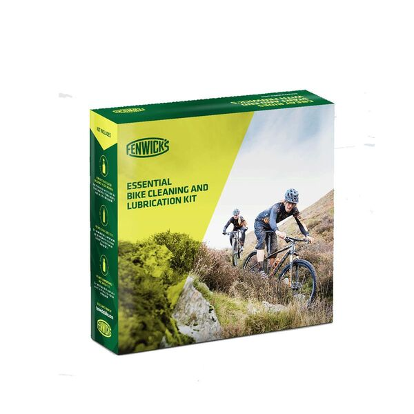 Fenwicks Essential Bike Cleaning & Lubrcation Kit click to zoom image