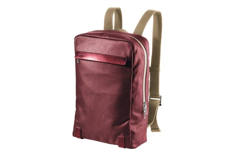 Brooks England Pickzip Red/Maroon click to zoom image