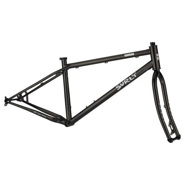 Surly Lowside Frameset Black click to zoom image