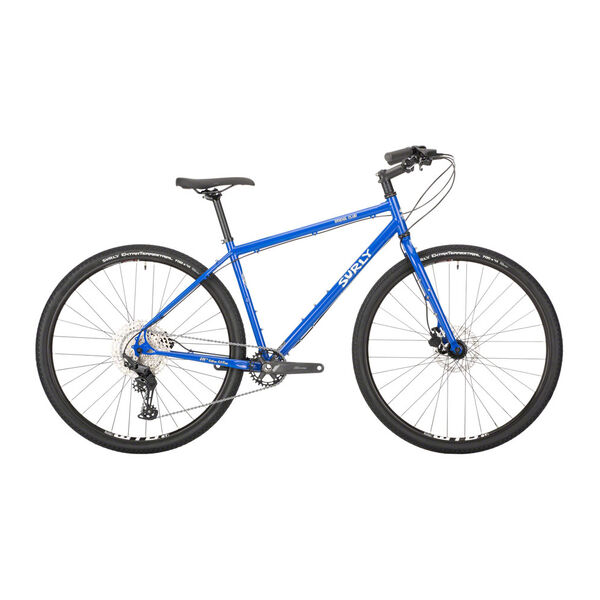 Surly Bridge Club 1x11sp Deore 700c Utility Mountain Bike, Hydro Disc Brake, Gnot Boost 138mm Loo Azul click to zoom image