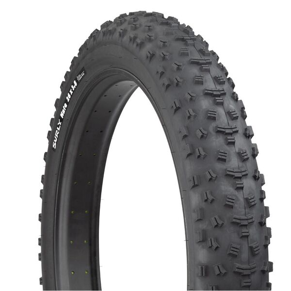 Surly Nate TLR 3.8 Super Wide, Tubeless Ready, Folding Bead, 120Tpi Casing, Trail tread click to zoom image