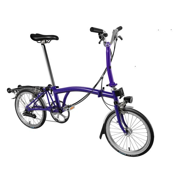 Brompton M6R	Purple Metallic click to zoom image