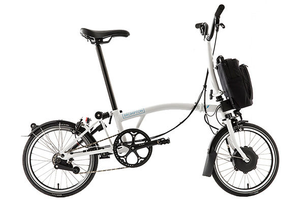 BROMPTON Electric - H2L White click to zoom image
