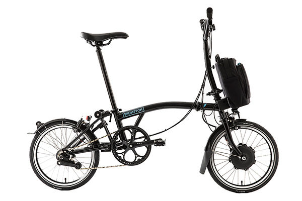 BROMPTON Electric - M6L Black click to zoom image