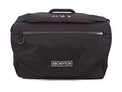 Brompton S BAG, BLACK FLAP, C/W COVER & FRAME